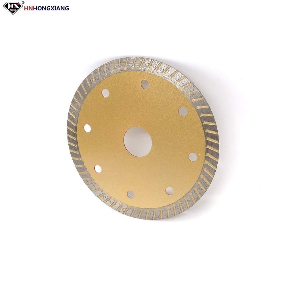 Turbo Diamond Saw Blade for Wet Cutting