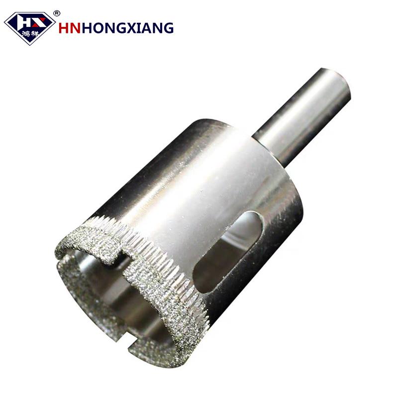 Electroplated Glass Diamond Drill Bit