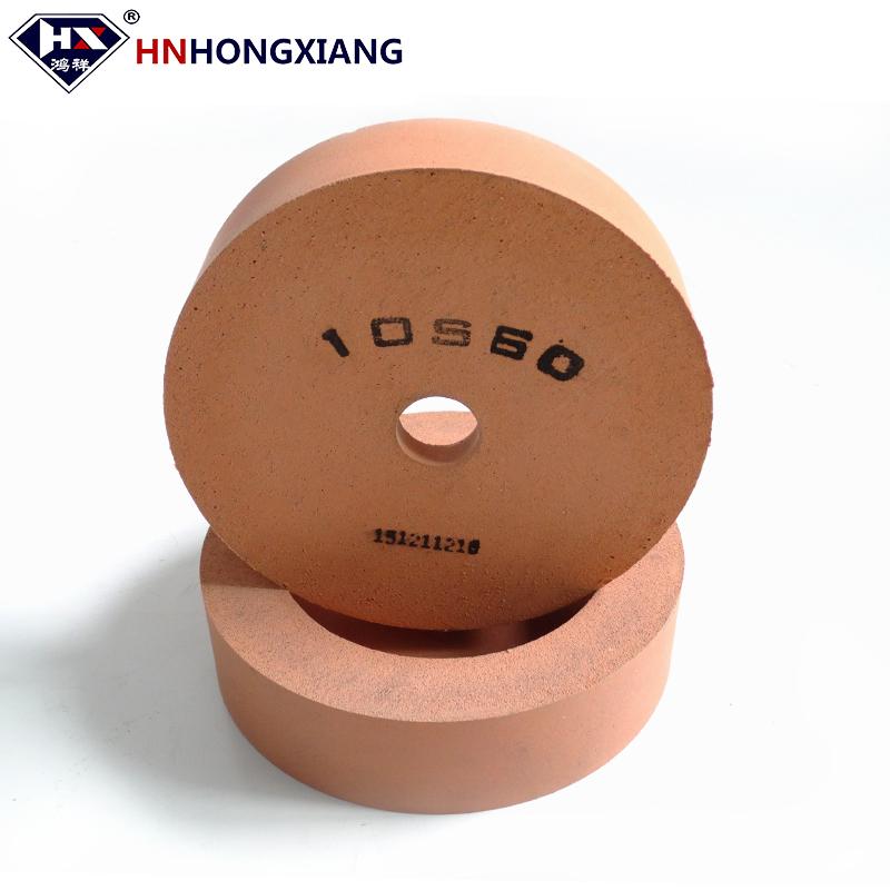10S40 10S60 10S80 Glass Polishing Wheel for Glass Bottom Edge and Chamfer Polishing