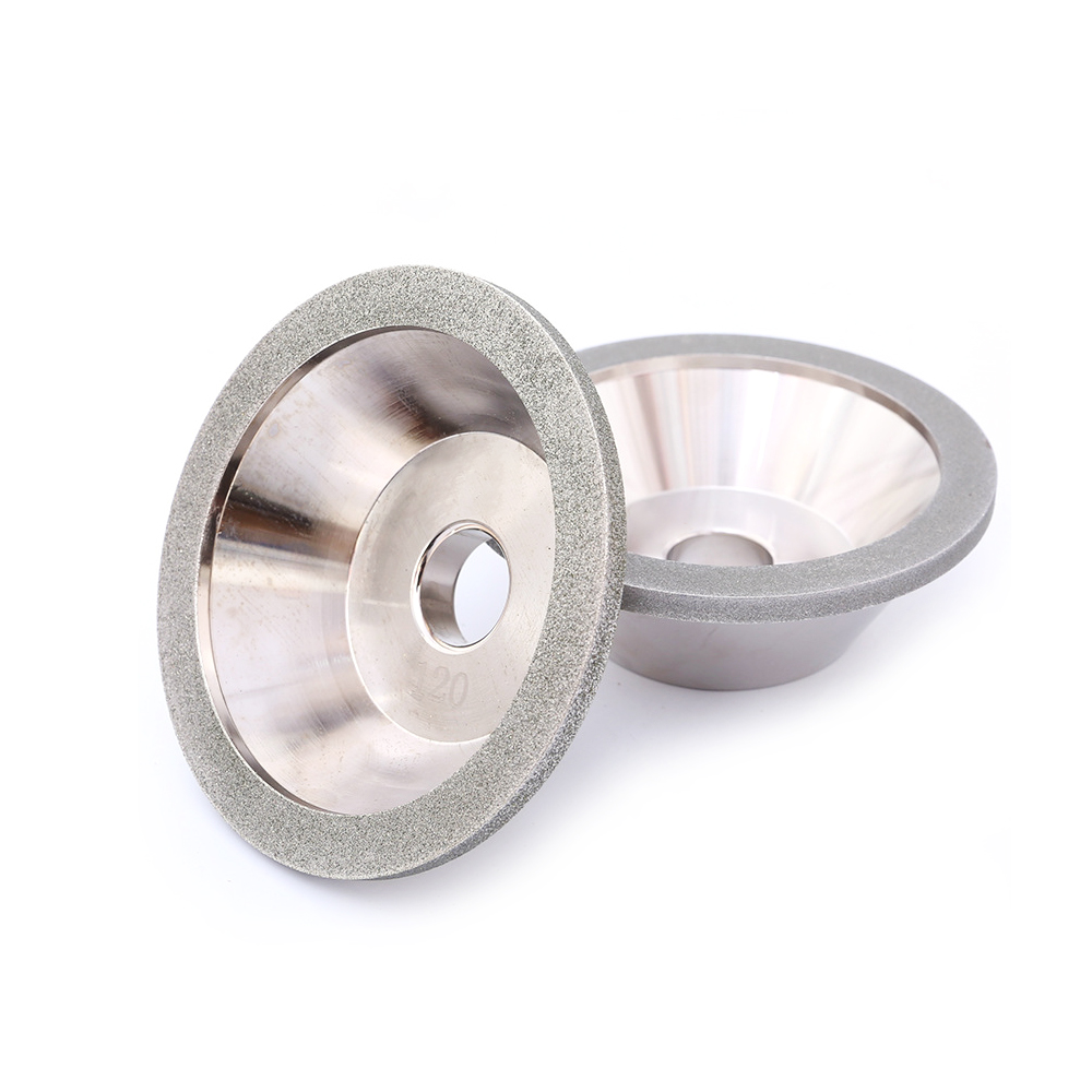 Bowl Shape Electroplated Diamond Grinding Wheel