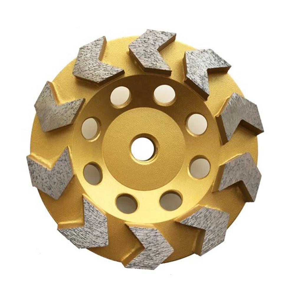 Arrow Segment Diamond Grinding Wheel for Stone Concrete