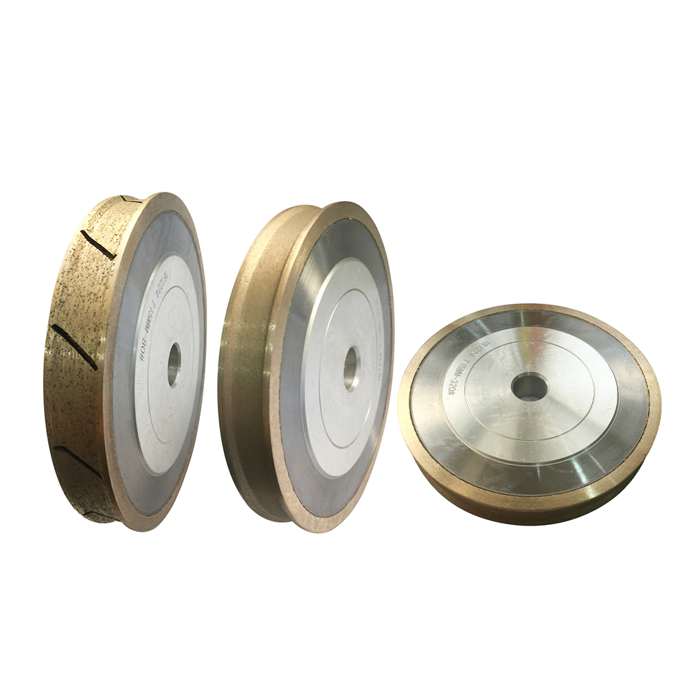 PE Wheel Pencil Edge Diamond Grinding wheel For Glass Round Edging