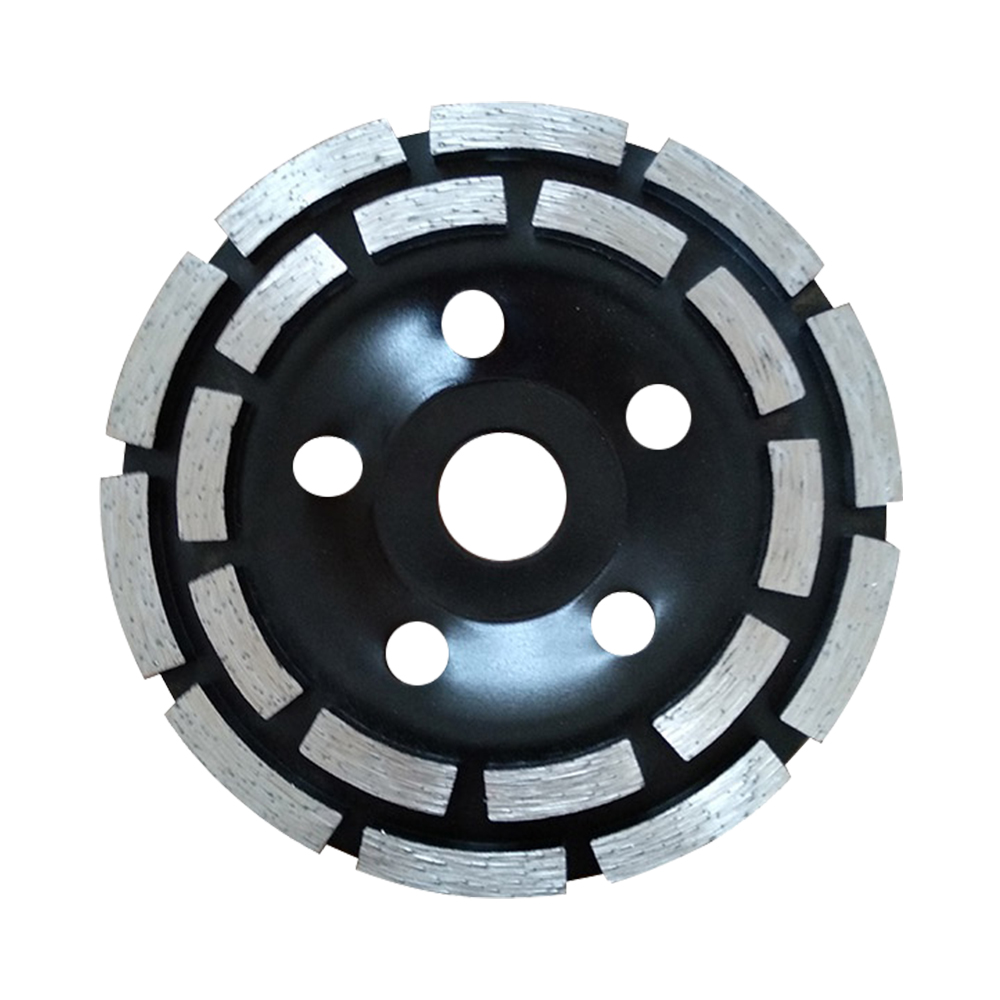 Double Row Diamond Grinding Cup Wheel for Stone Concrete