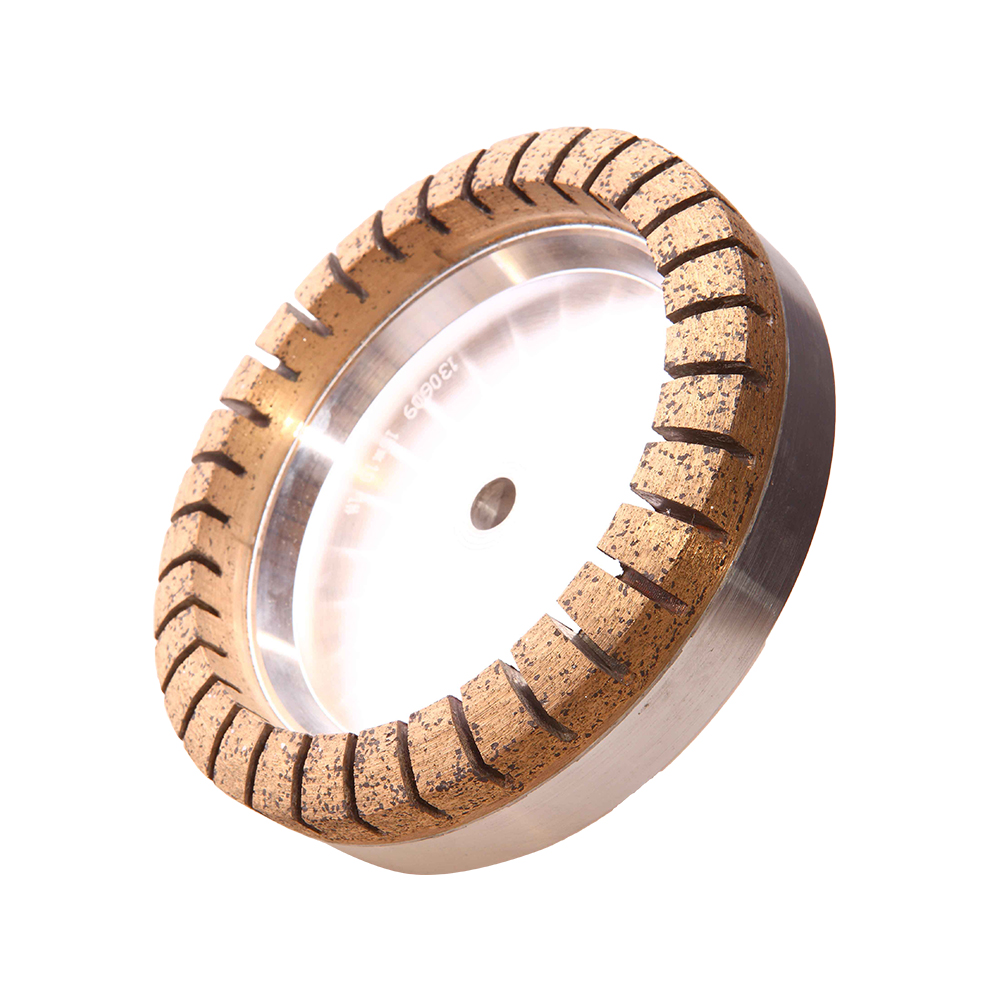 Full Segment Metal Bond Diamond Grinding Wheel For Glass