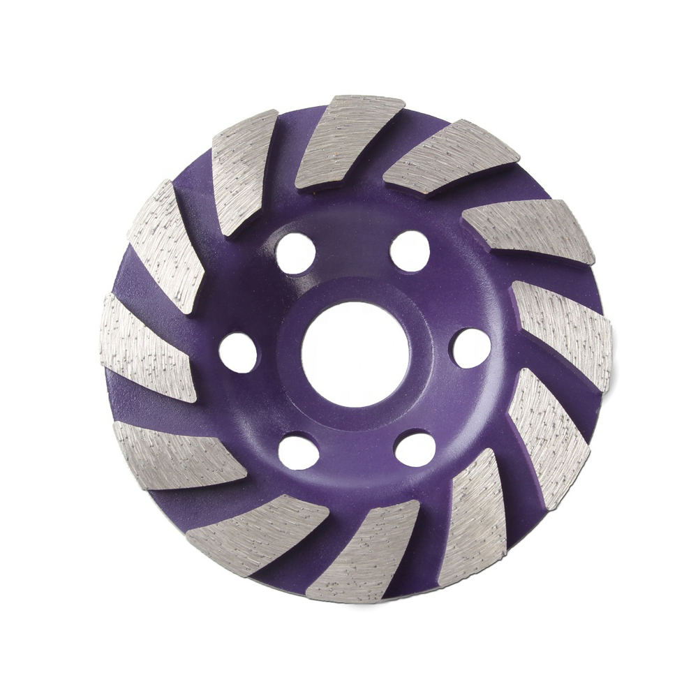 Turbo Dimaond Grinding Cup Wheel for Stone Concrete