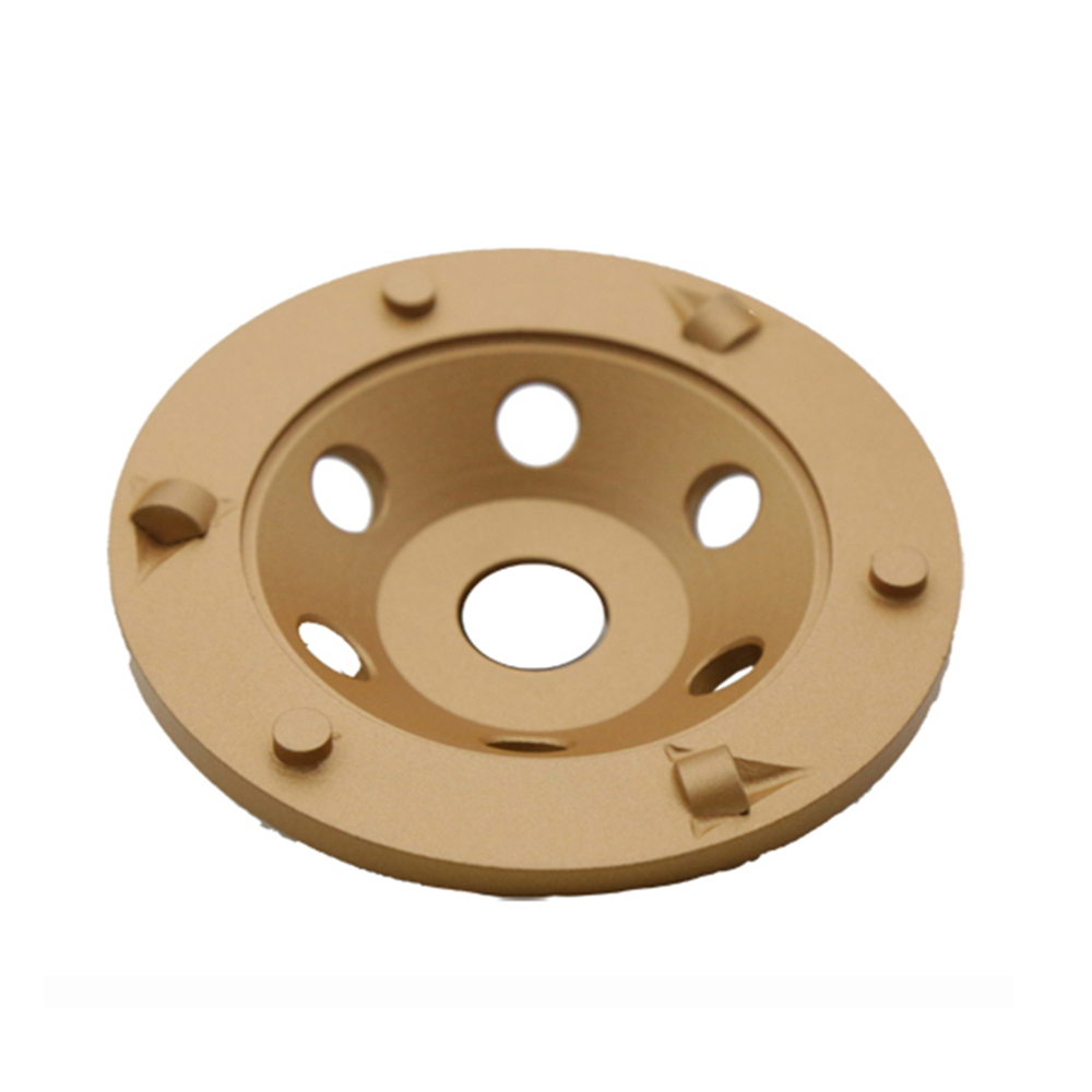 PCD Diamond Grinding Cup Wheel for Epoxy Coating Paint Glue Concrete Floor