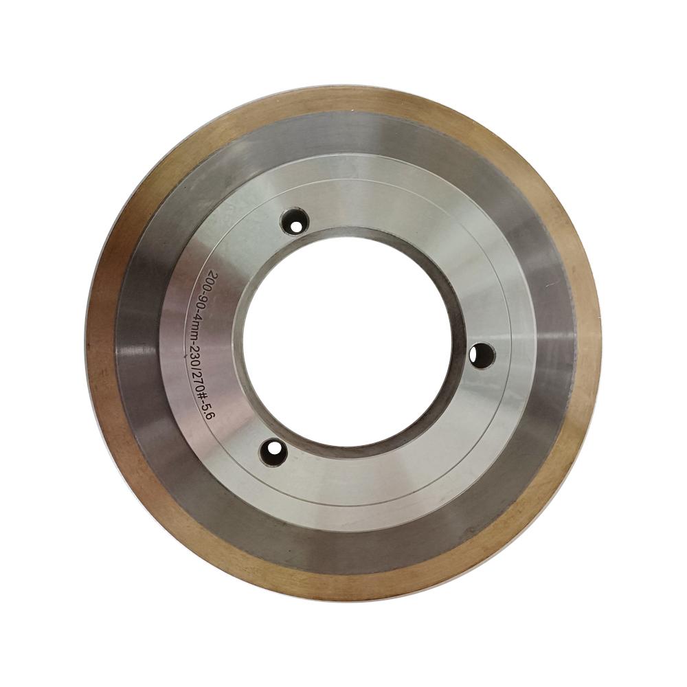 Metal Bond Diamond Grinding Wheel for Solar Photovoltaic Glass Edging
