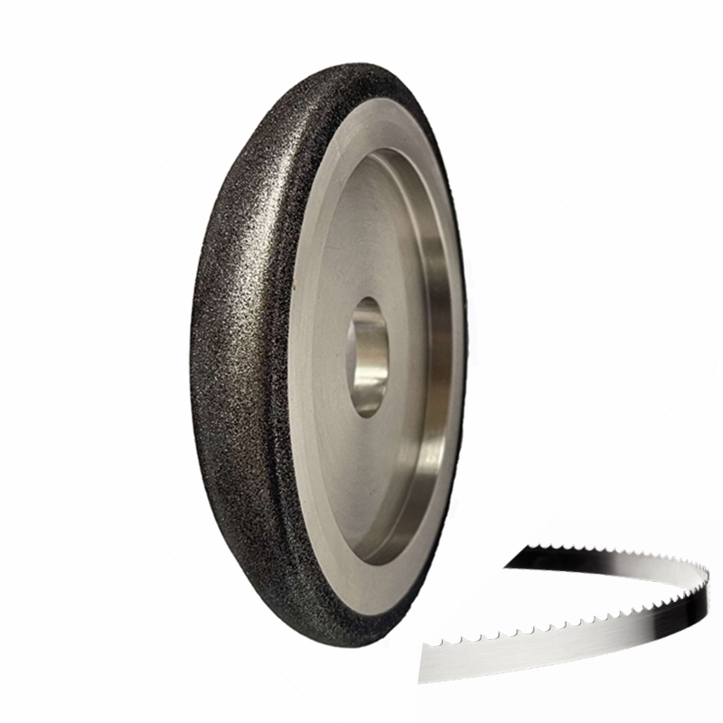 Electroplated Diamond CBN Wheels for Band Saw Blade Sharpening