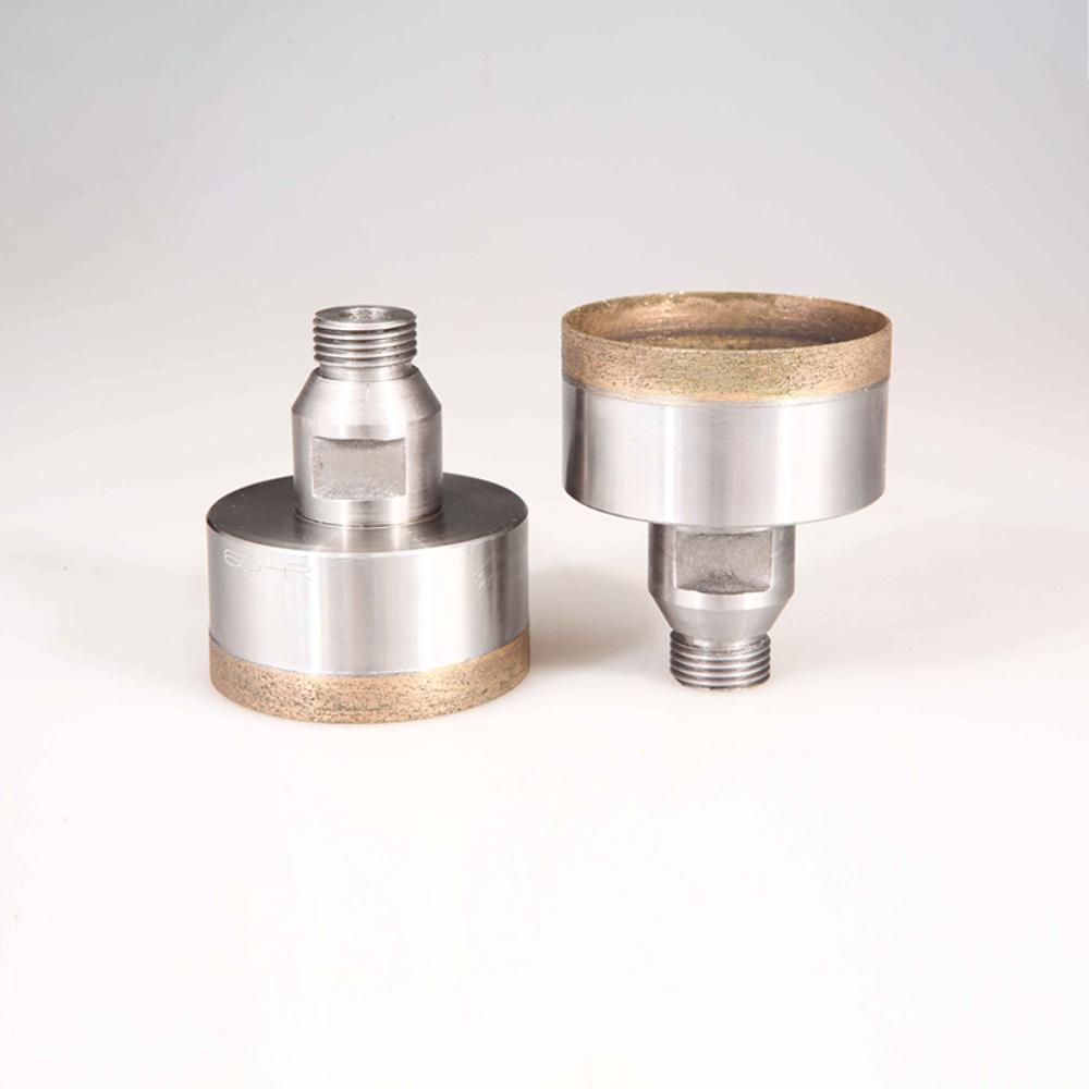 Thread Shank Glass Diamond Drill Bit